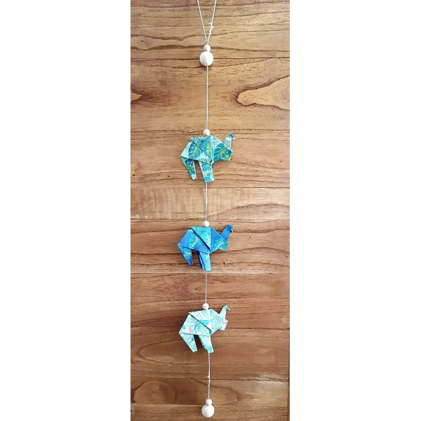 MOBILE ORIGAMI ELEPHANT