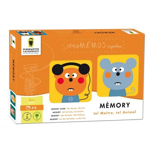 MEMORY MAITRE ET ANIMAL